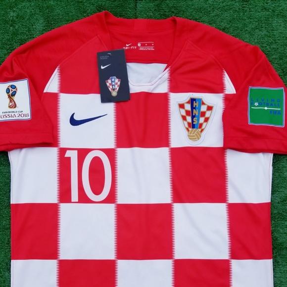 334c437d0fd 2018 Croatia soccer jersey Nike Modric World Cup